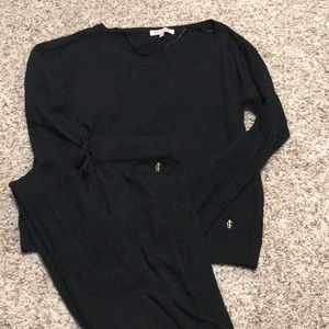 All black Juicy Couture sweater set